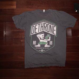 Gray & Green American Apparel Dethrone T